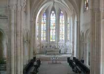 Nef de l'Église Saint Pierre de Tonnerre