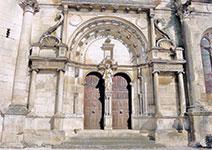 Portail de l'Église Saint Pierre de Tonnerre