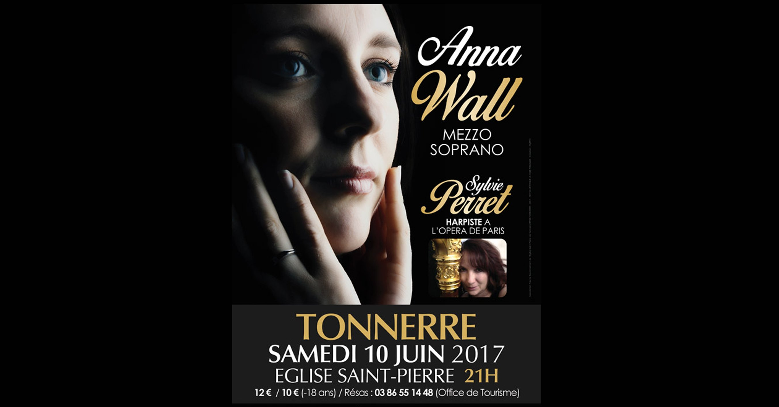 Concert Anna Wall, Sylvie Perret.
